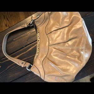 Nine West Camel Leather hobo bag